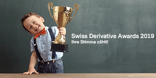 Swiss Derivative Awards 2019 - jetzt abstimmen!