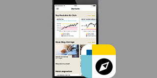 News, prices, performance. All the information you need on the go.