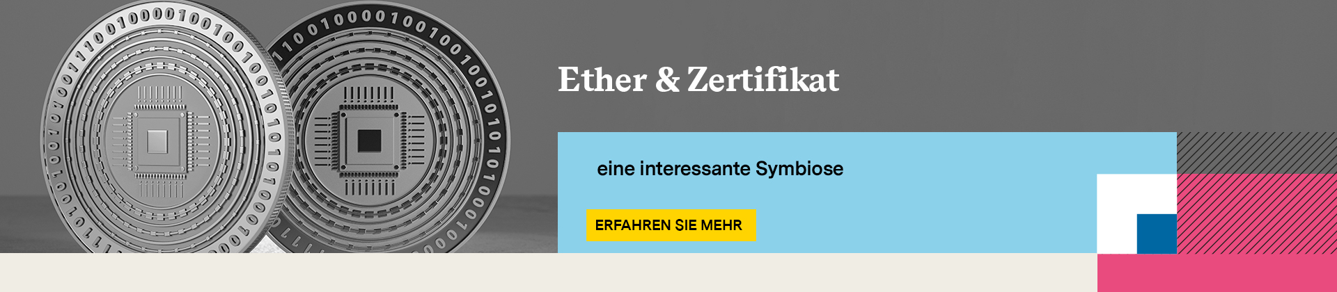 Ether & Zertifikate